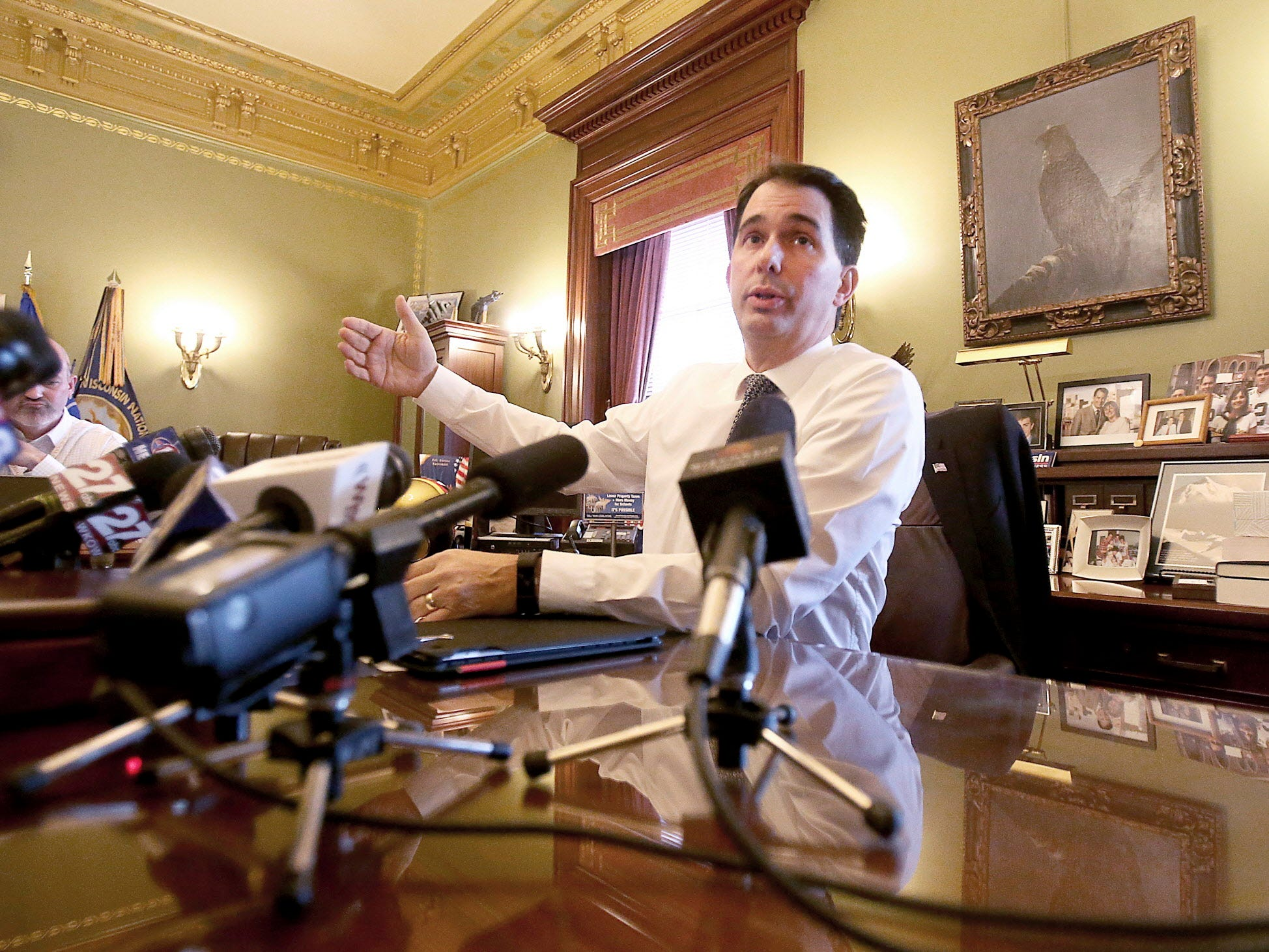 Scott Walker: 'I may have reformed myself out of a job'