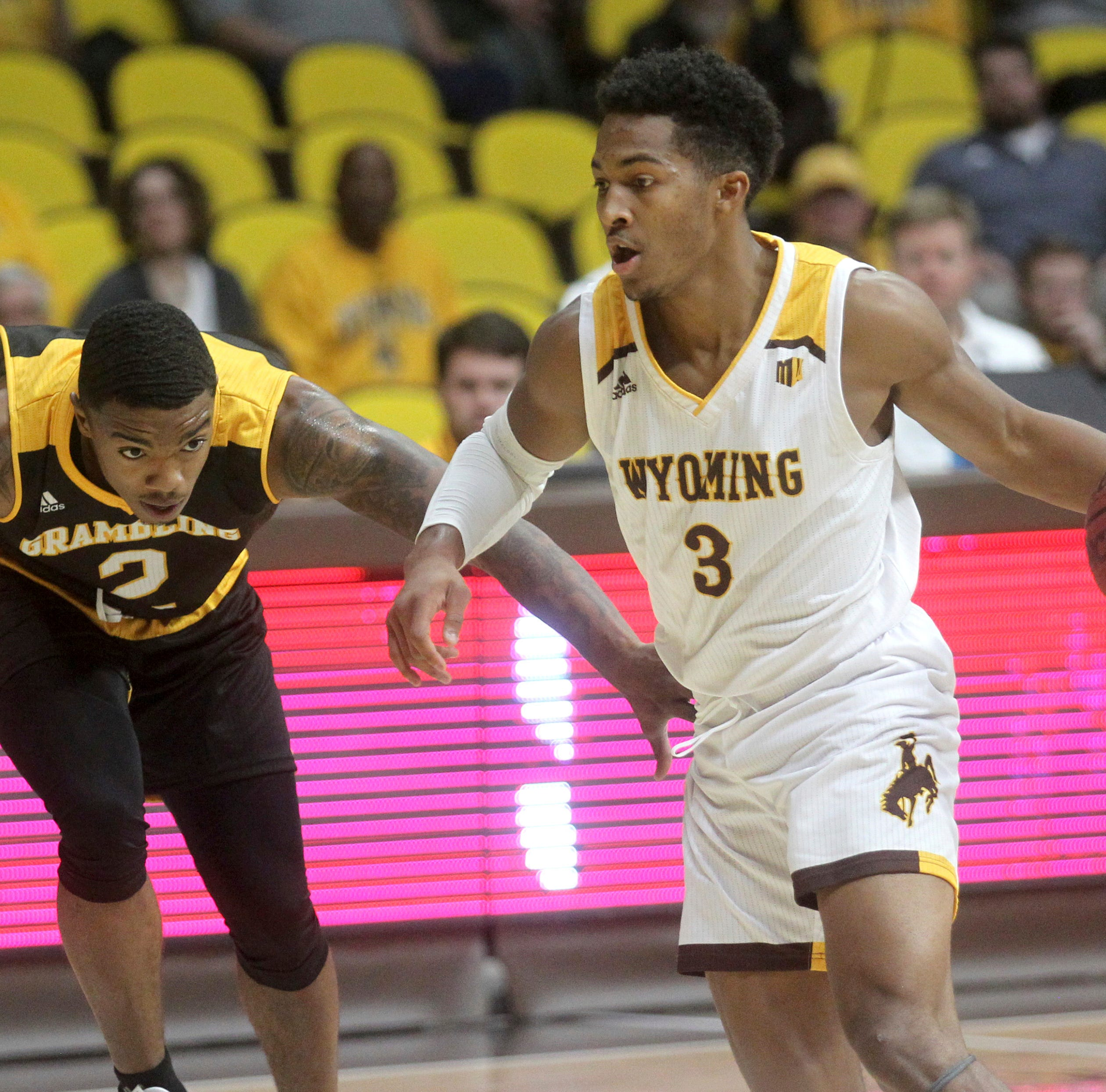Wyoming hands Grambling men first defeat of season