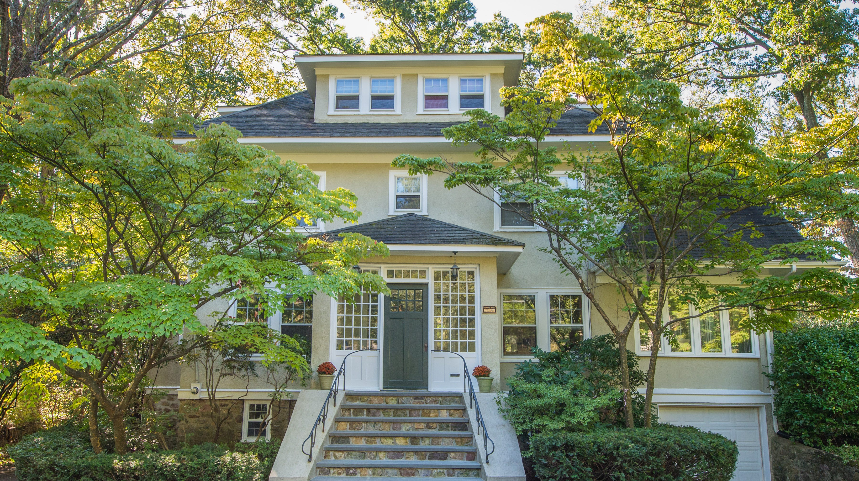 380 Morris Ave. in Mountain Lakes is a five-bedroom home originally designed by Herbert J. Hapgood. It will be open to the pubic from 1 to 3 p.m. on Sunday, Nov. 18.