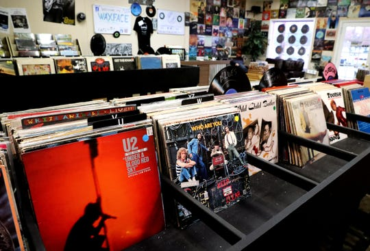 Waxface Records in Murfreesboro has 4,000 ever-changing vintage and new selections in LP and EP formats regularly in stock.