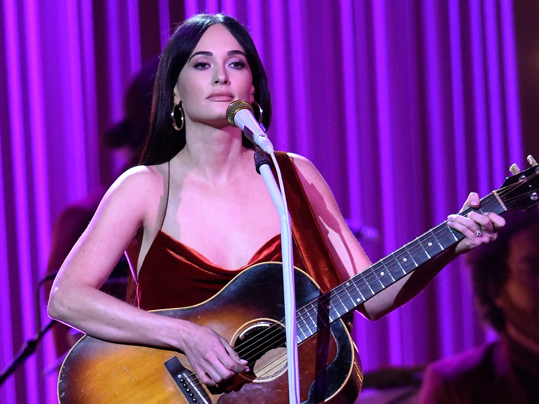 Kacey Musgraves performs during the 52nd Annual CMA Awards at Bridgestone Arena Wednesday Nov. 14, 2018, in Nashville, Tenn.
