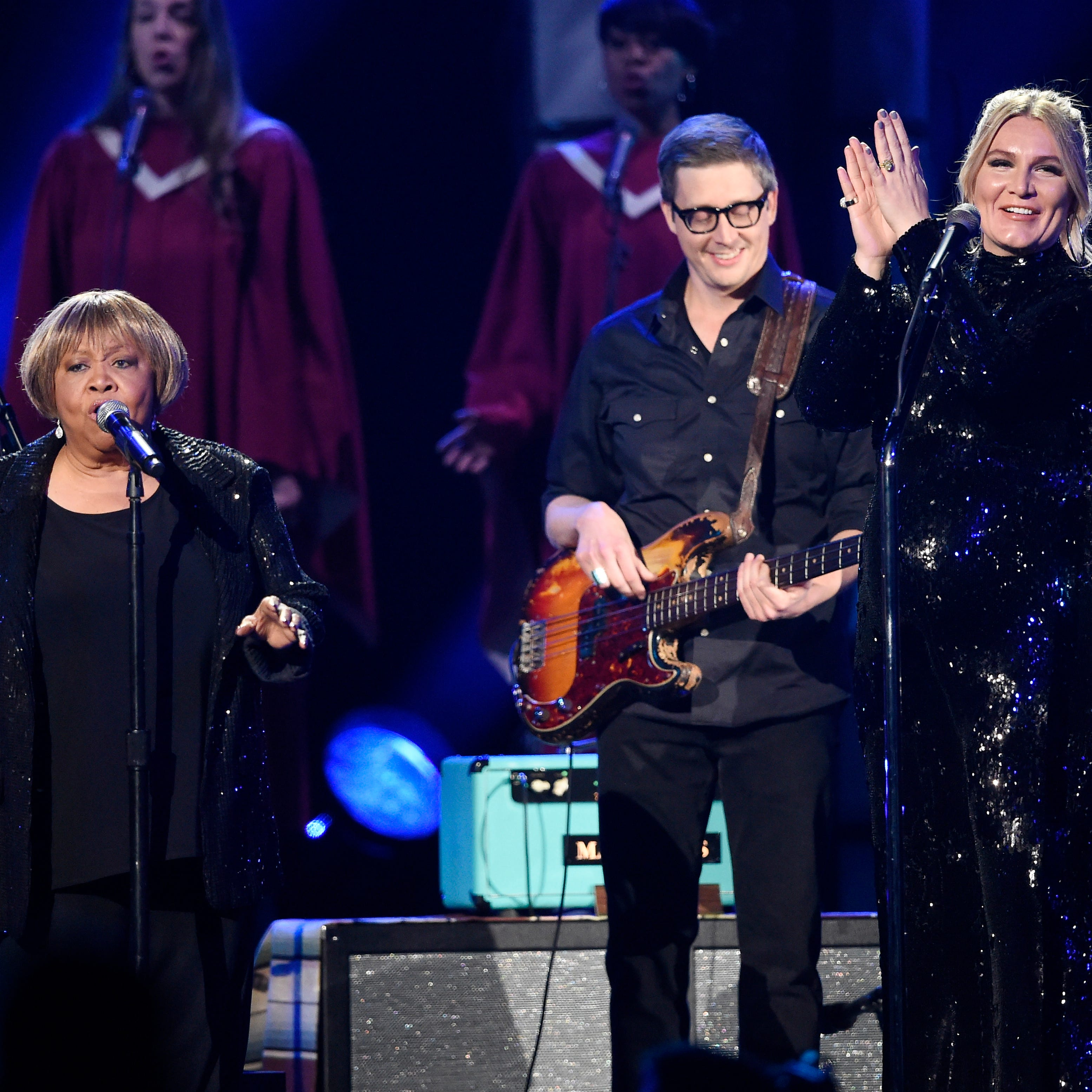 CMA Awards 2018: Mavis Staples steals the show during performance with Chris Stapleton, Maren Morris