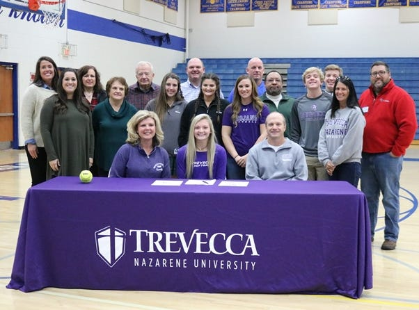 DCA's Alex Behnke signed with Trevecca to play softball.