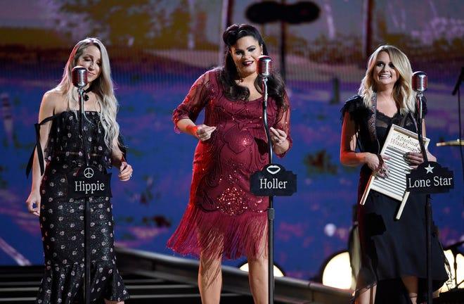 "Best Country Album: Pistol Annies - ""Interstate Gospel"" Here The Pistol Annies perform during the 52nd Annual CMA Awards at Bridgestone Arena Nov. 14, 2018, in Nashville, Tenn."