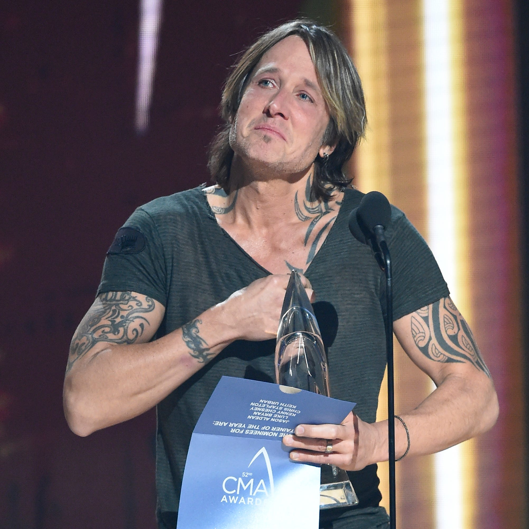 CMA Awards 2018: Keith Urban upsets, Chris Stapleton steamrolls