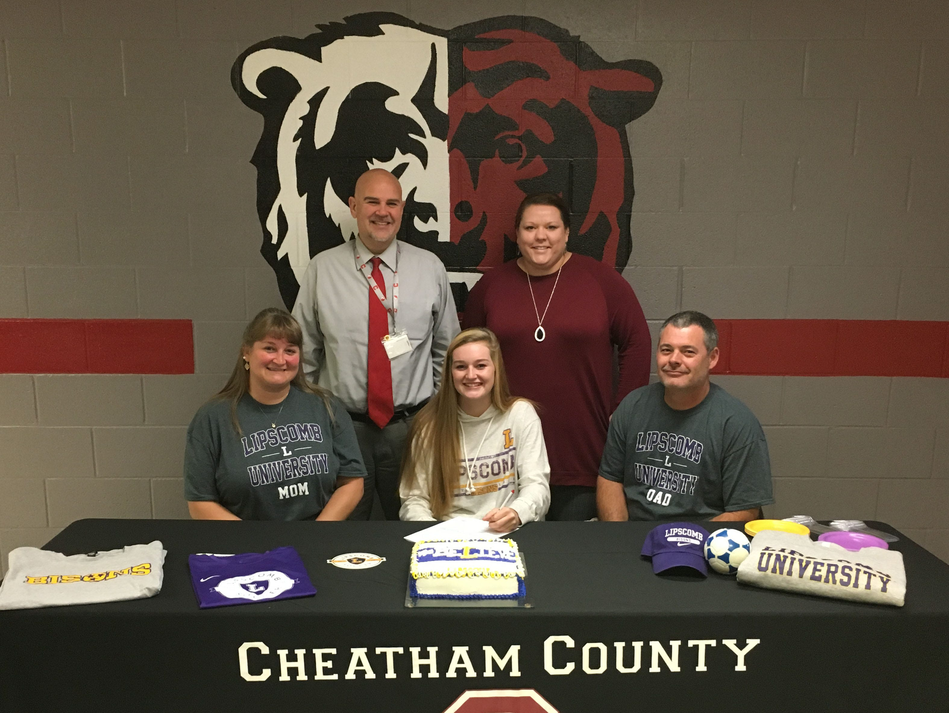 Cheatham County's Macy Douglas signed with Lipscomb to play soccer.