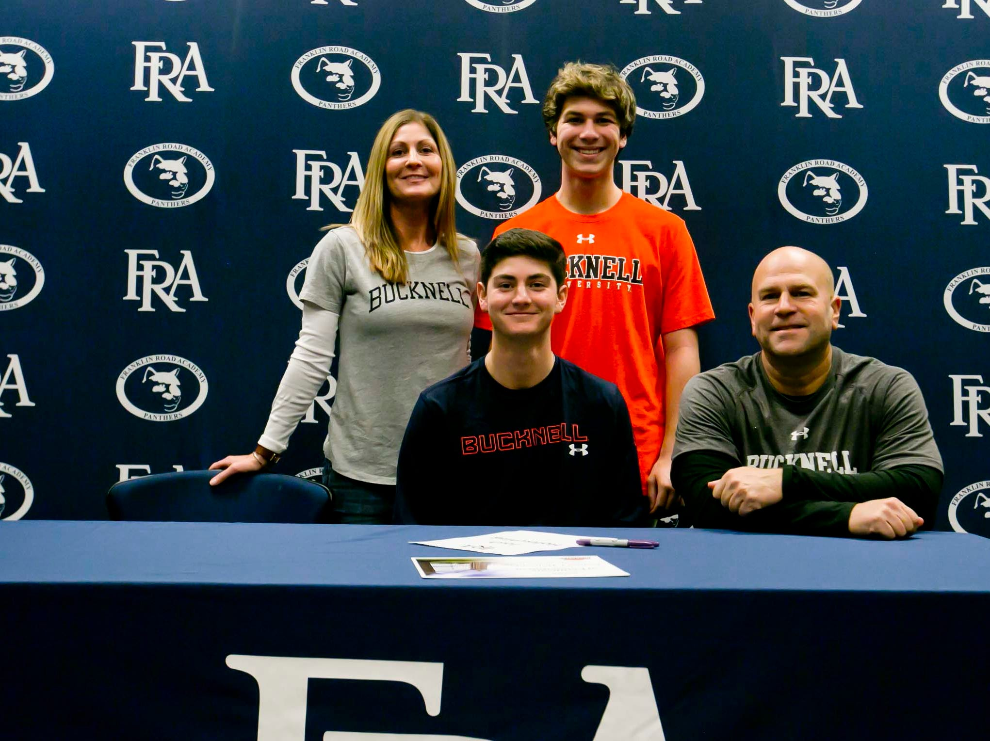 FRA's Josh Holtschlag signed with Bucknell to play golf.