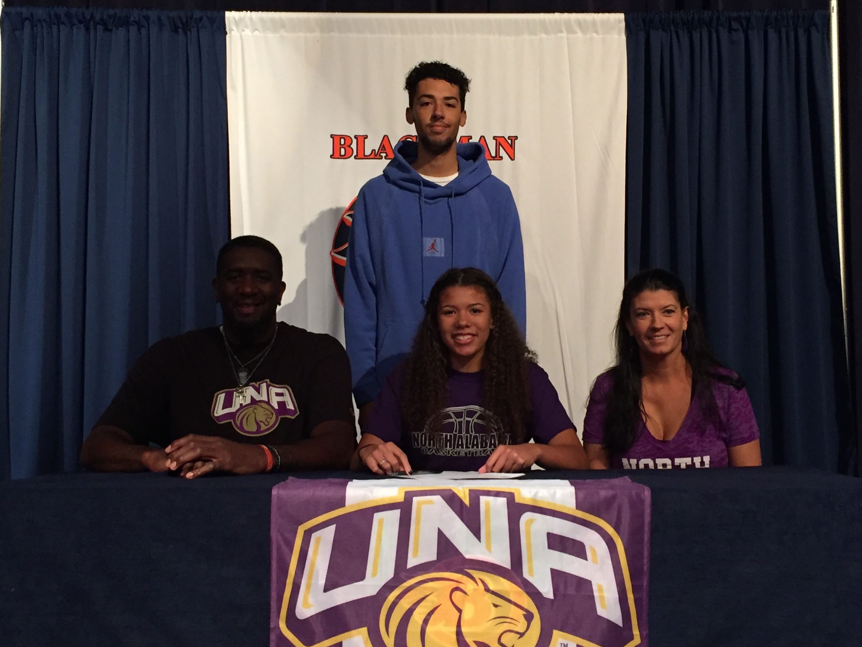Blackman's Jaida Bond signed with North Alabama to play basketball.