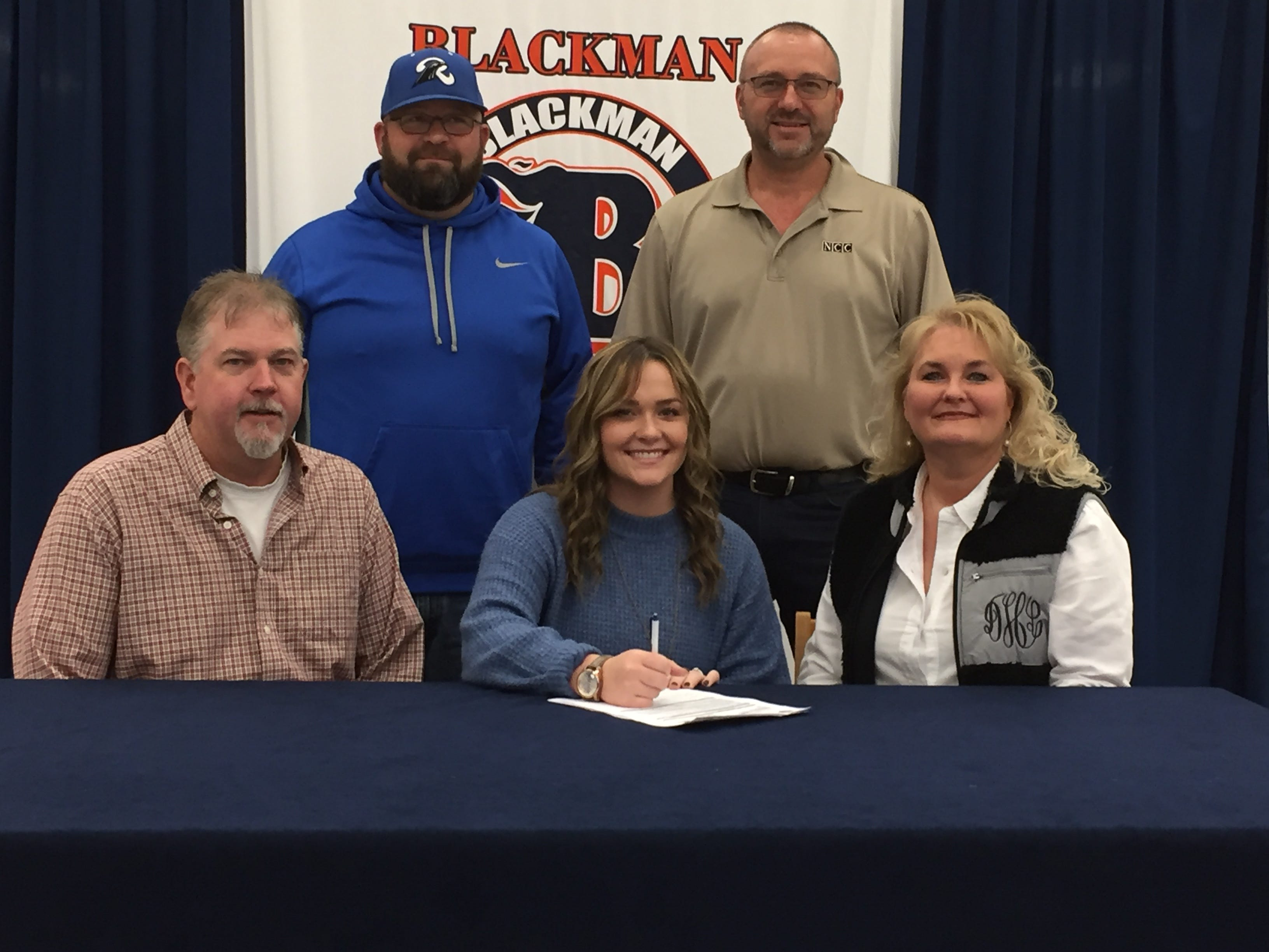 Blackman's Mary Hamby signed with Cleveland State to play softball