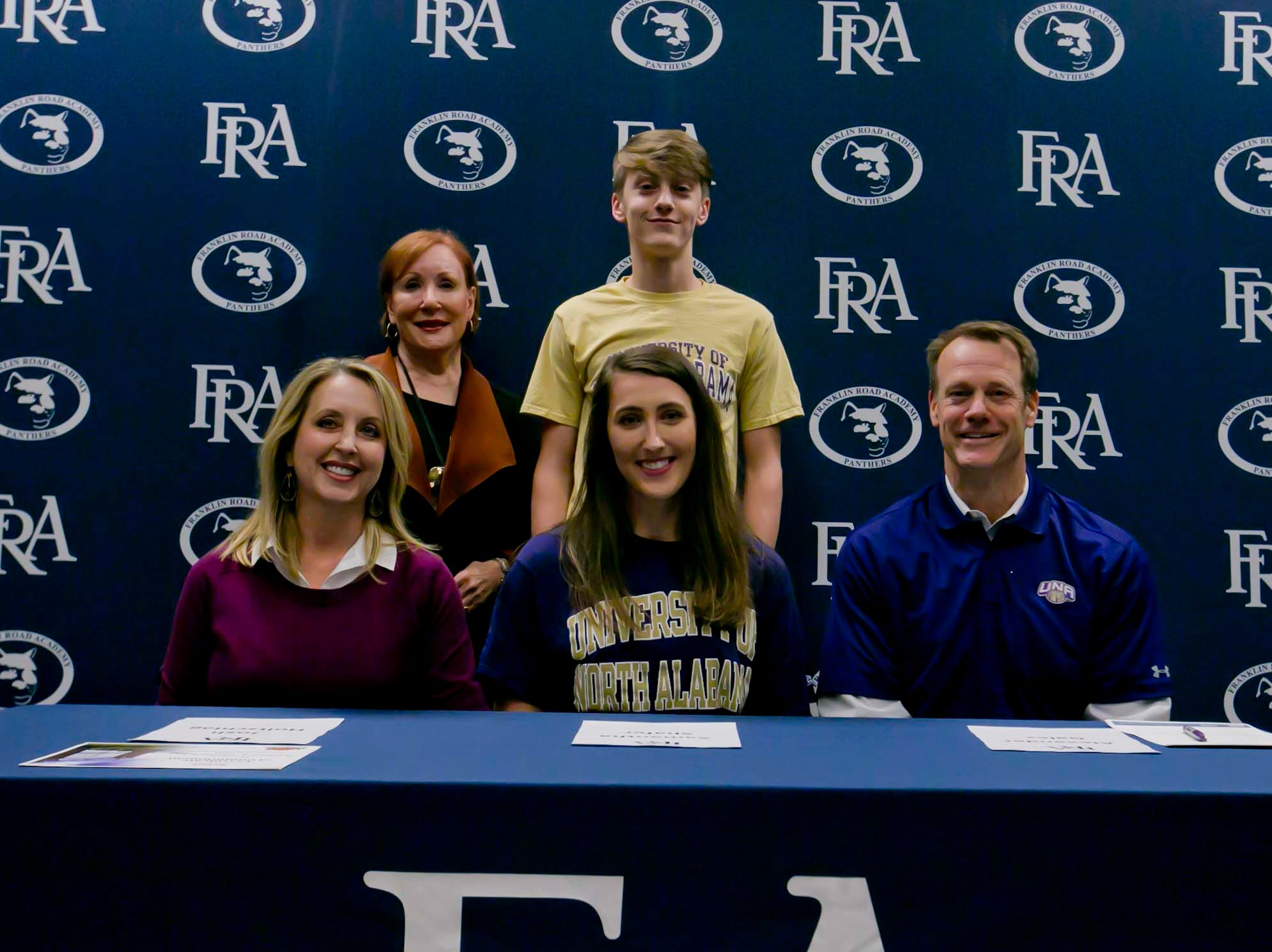 FRA's Samantha Shafer signed with North Alabama to play volleyball.