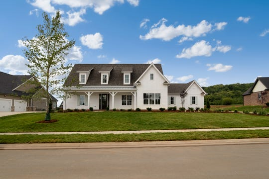 This home is another one-story option being built in McDaniel Farms in College Grove.