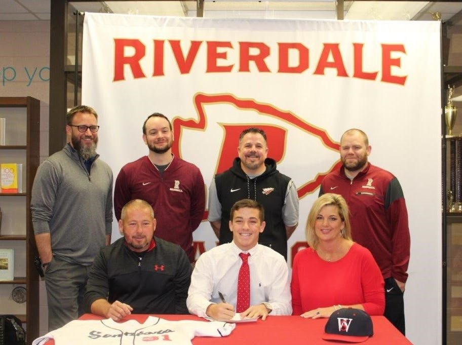 Riverdale's Benjamin Wilson signed with Walters State to play baseball.