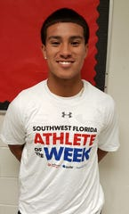 R.J. Rosales, quarterback of the Immokalee High football team, is the Athlete of the Week for Nov. 5-10, 2018.