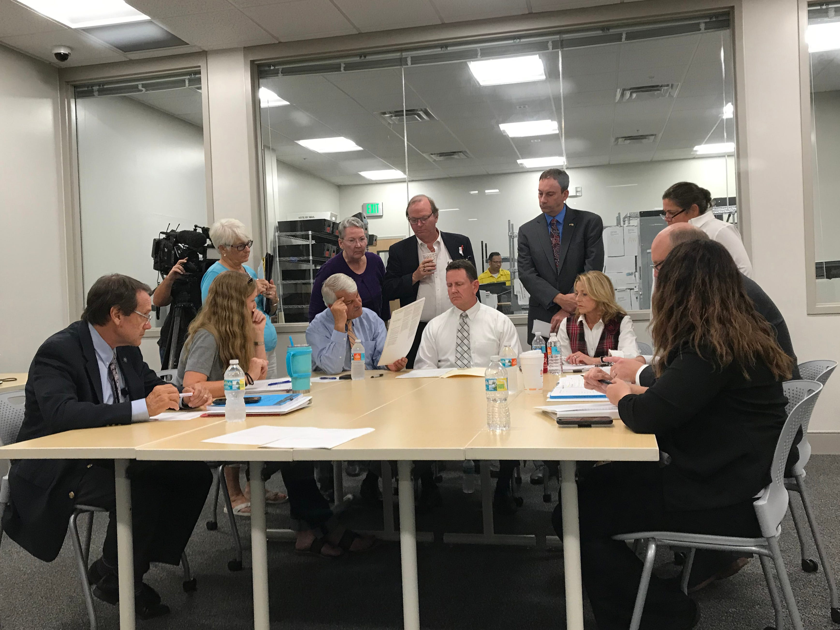 Collier certifies recount results, orders manual recount in county judge race