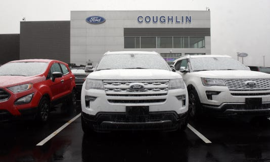 Coughlin Celebrates Opening Of New Ford Dealership Saturday