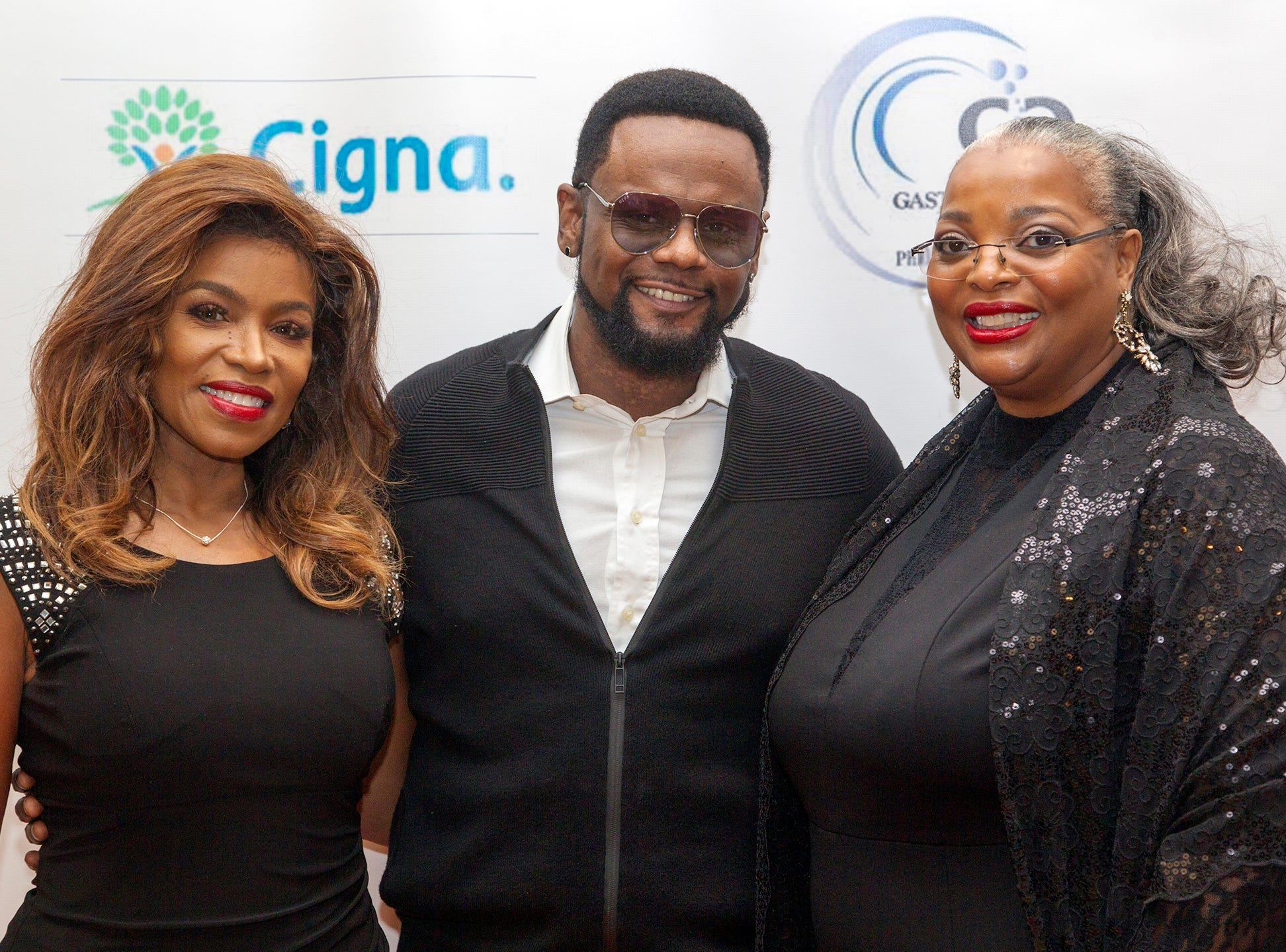 Toni Yates, Carl Thomas, Rev Caffie Rischer. Jessie Banks Foundation holds 16th annual Scholarship Awards Gala in Teaneck. 11/09/2018