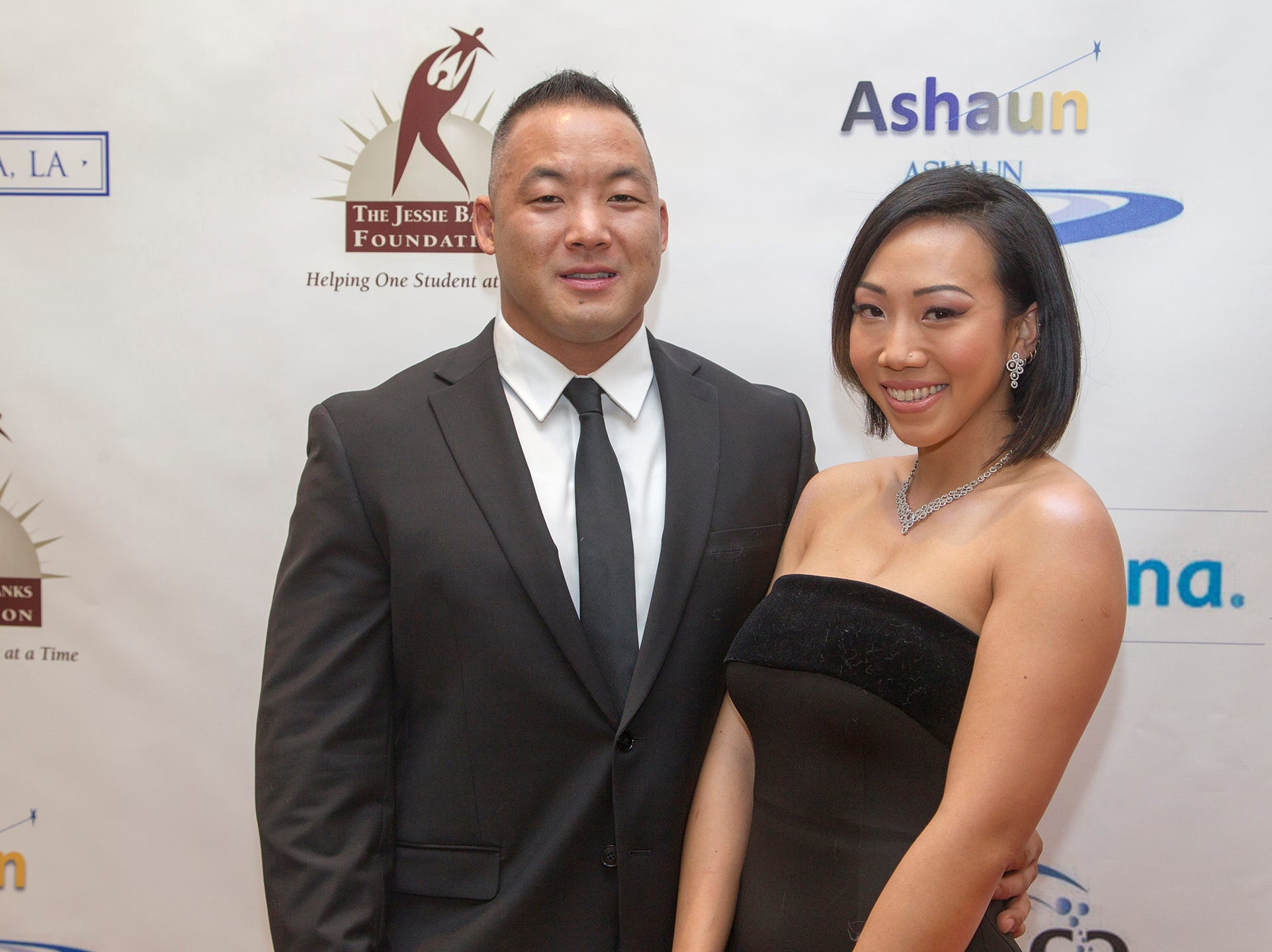 Gilbert Hwang, Trinnie Dang. Jessie Banks Foundation holds 16th annual Scholarship Awards Gala in Teaneck. 11/09/2018