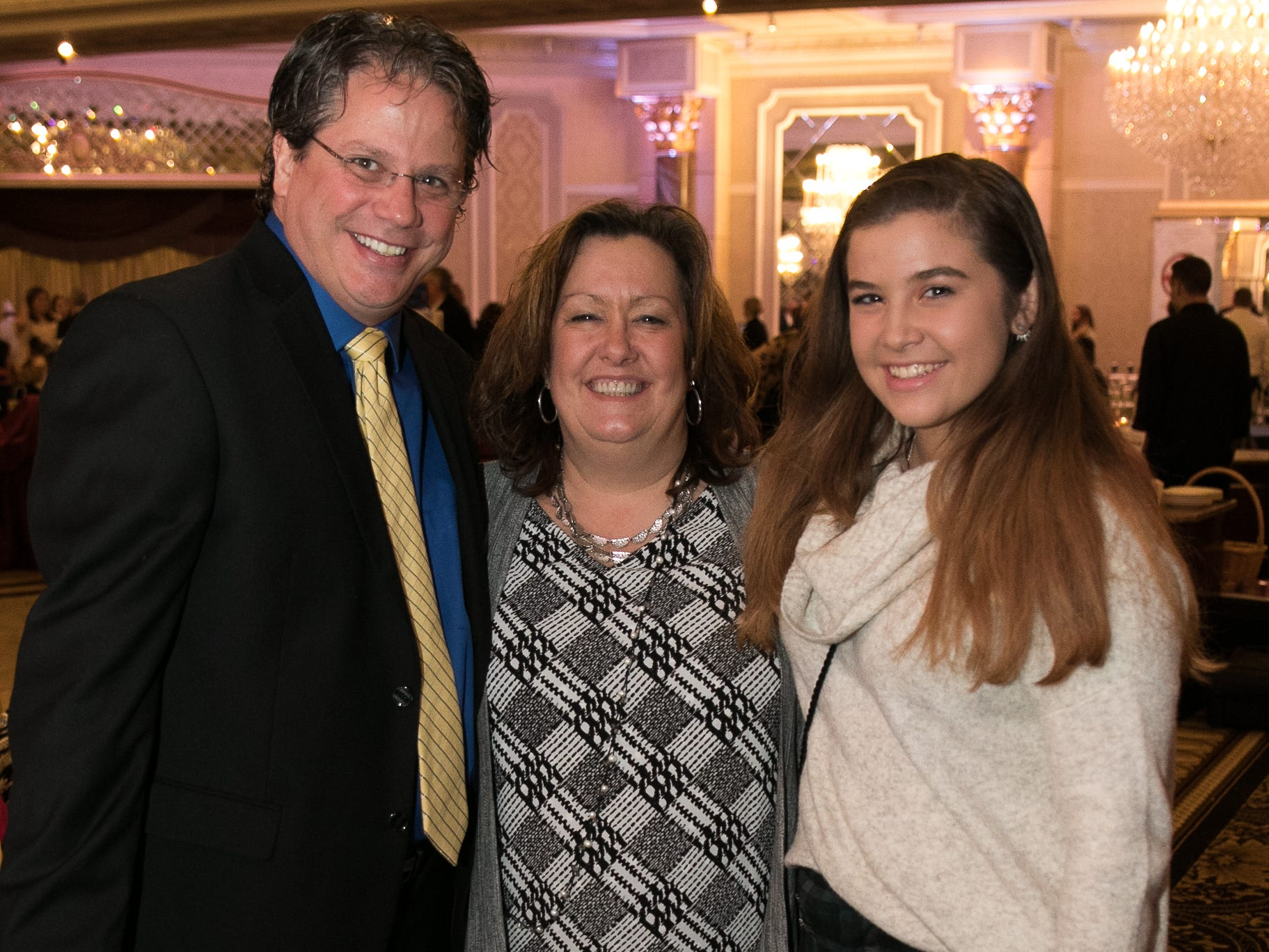 "Chris, Kris and Jessica Pendy. The New Bridge Medical Center Foundation held its 10th Annual ""A Taste of Bergen"" at The Venetian in Garfield. The evening featured celebrity chef Chris Holland, the 2017 Grand Champion of the Food Network's ""Chopped."" 11/12/2018"