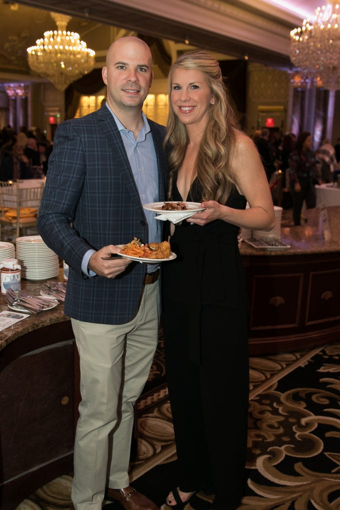 "Ryan and Megan Hayo. The New Bridge Medical Center Foundation held its 10th Annual ""A Taste of Bergen"" at The Venetian in Garfield. The evening featured celebrity chef Chris Holland, the 2017 Grand Champion of the Food Network's ""Chopped."" 11/12/2018"
