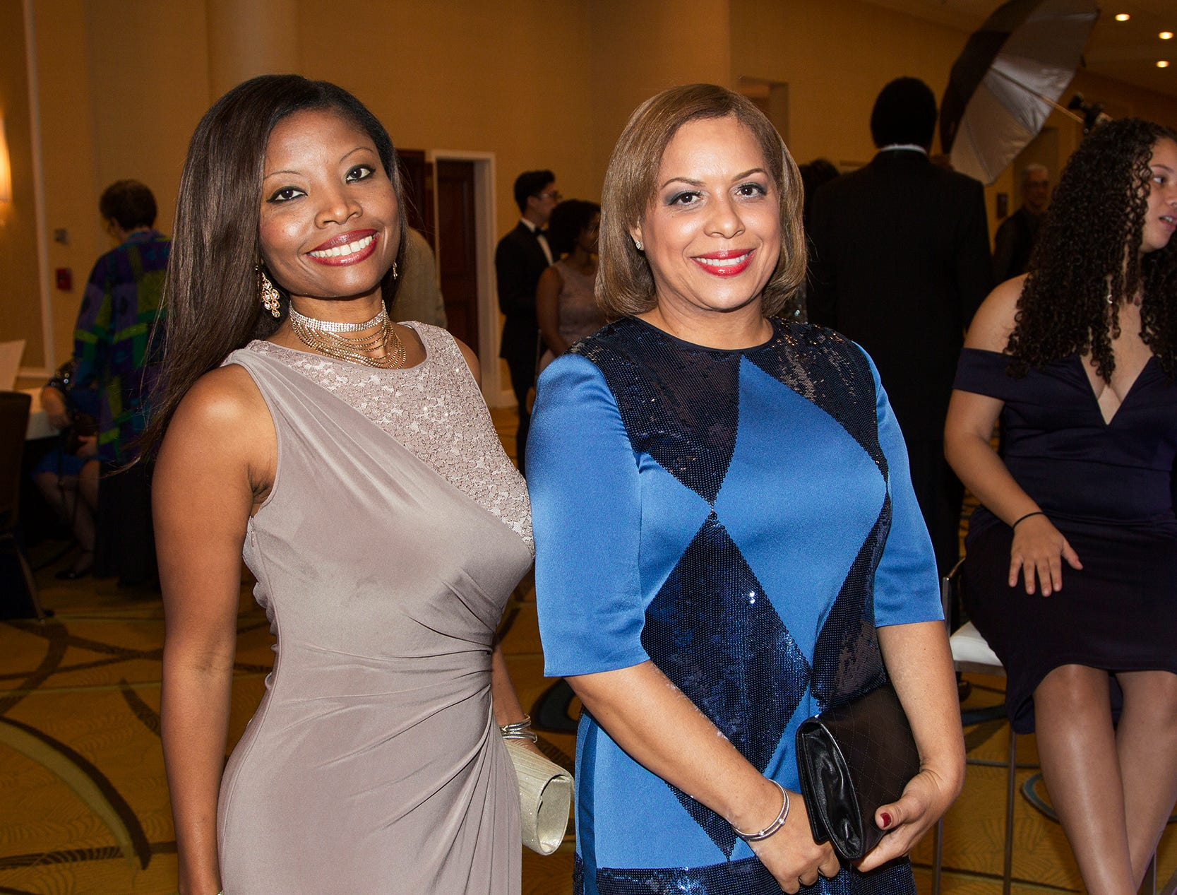 Maggie Delany, Belkis Cabral. Jessie Banks Foundation holds 16th annual Scholarship Awards Gala in Teaneck. 11/09/2018