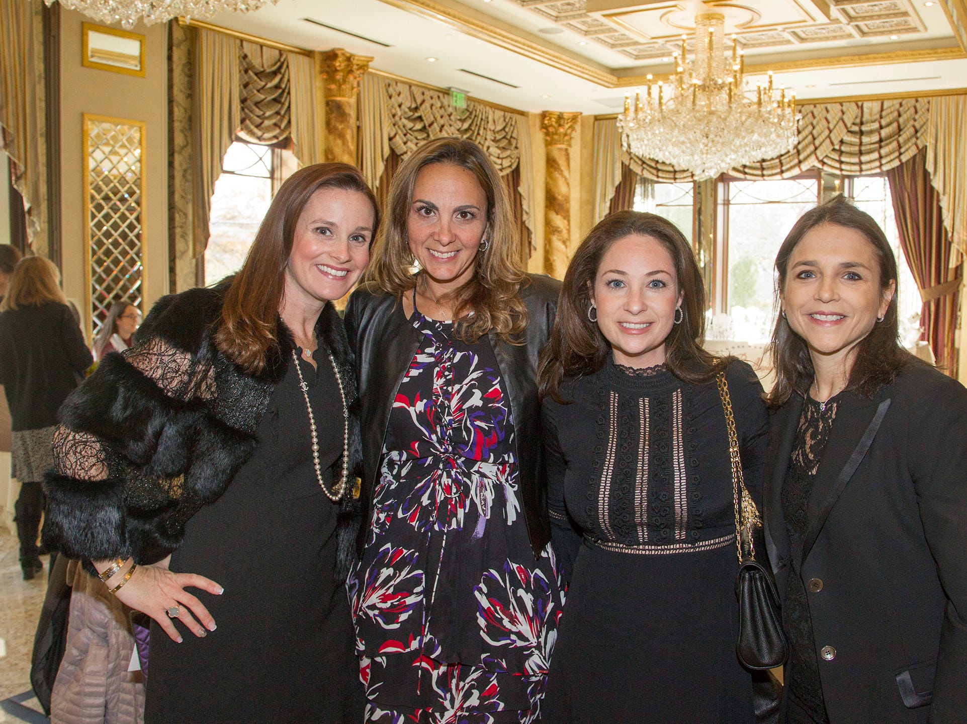 Bernadette Colonna, Lisa Marchiano, Jaime Fernino, Linda Spilka. Josephine's Garden, part of Hackensack Meridian Health, held its luncheon gala at Season's in Washington Township. The mission of this organization is to provide a place of respite, joy and hope to children battling cancer. 11/14/2018