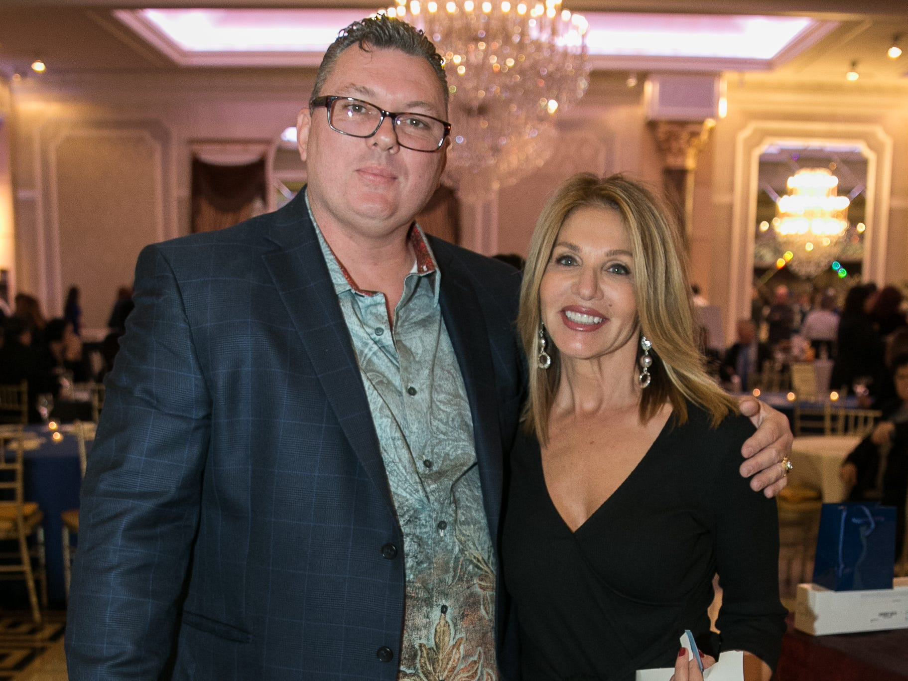 "Joseph Centeno, Sandra DiFiglia. The New Bridge Medical Center Foundation held its 10th Annual ""A Taste of Bergen"" at The Venetian in Garfield. The evening featured celebrity chef Chris Holland, the 2017 Grand Champion of the Food Network's ""Chopped."" 11/12/2018"