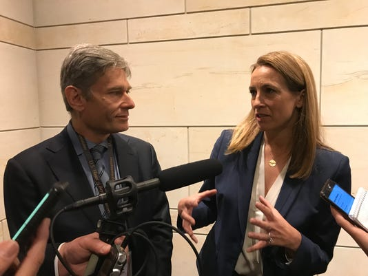 Tom Malinowski and Mikie Sherrill