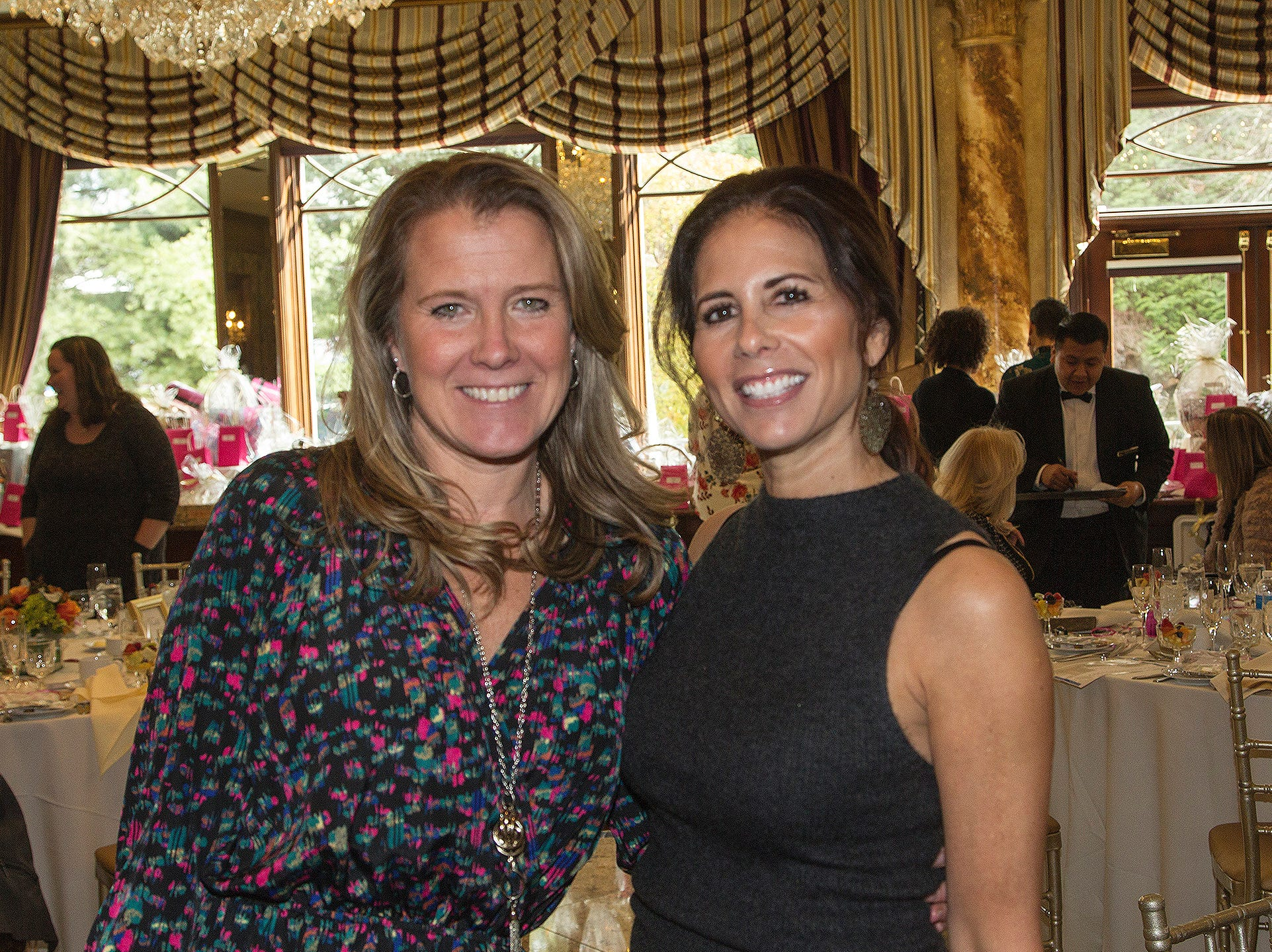 Laura McSpirit, Elyse Zitomer. Josephine's Garden, part of Hackensack Meridian Health, held its luncheon gala at Season's in Washington Township. The mission of this organization is to provide a place of respite, joy and hope to children battling cancer. 11/14/2018