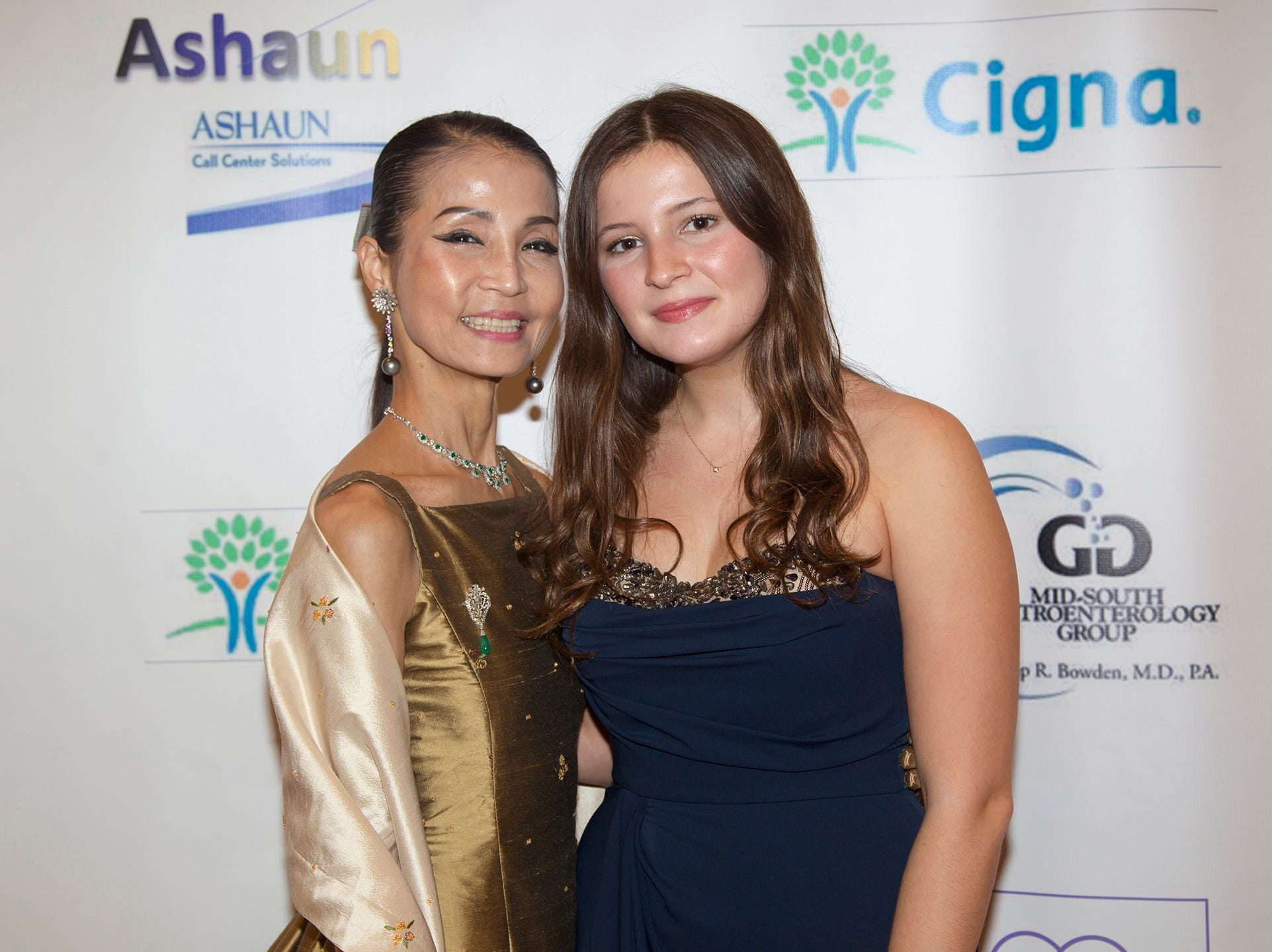 JBF Scholar Catherine Implicito and Heather Won Choi. Jessie Banks Foundation holds 16th annual Scholarship Awards Gala in Teaneck. 11/09/2018