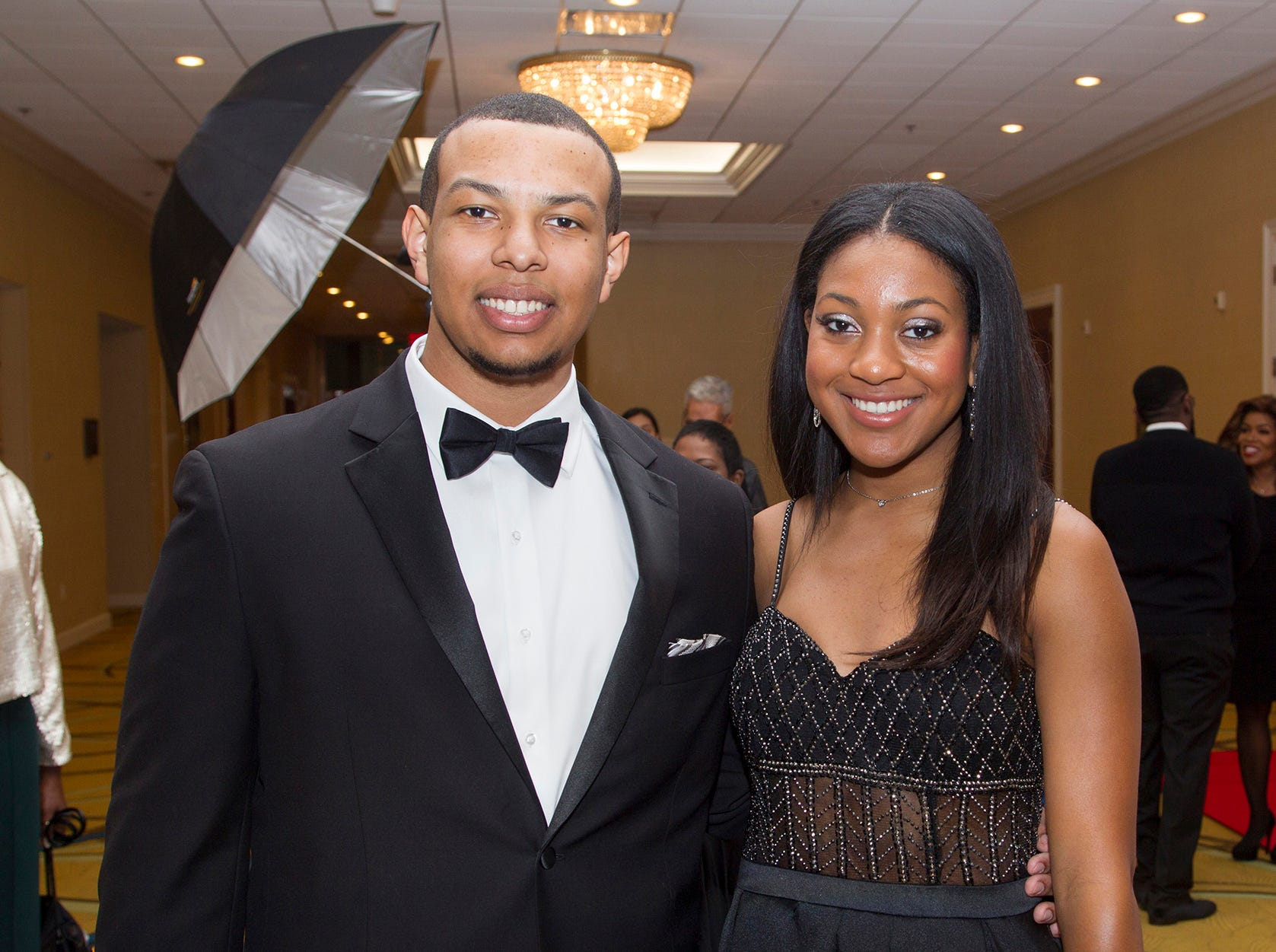 Anthony George, Zoe Washington. Jessie Banks Foundation holds 16th annual Scholarship Awards Gala in Teaneck. 11/09/2018