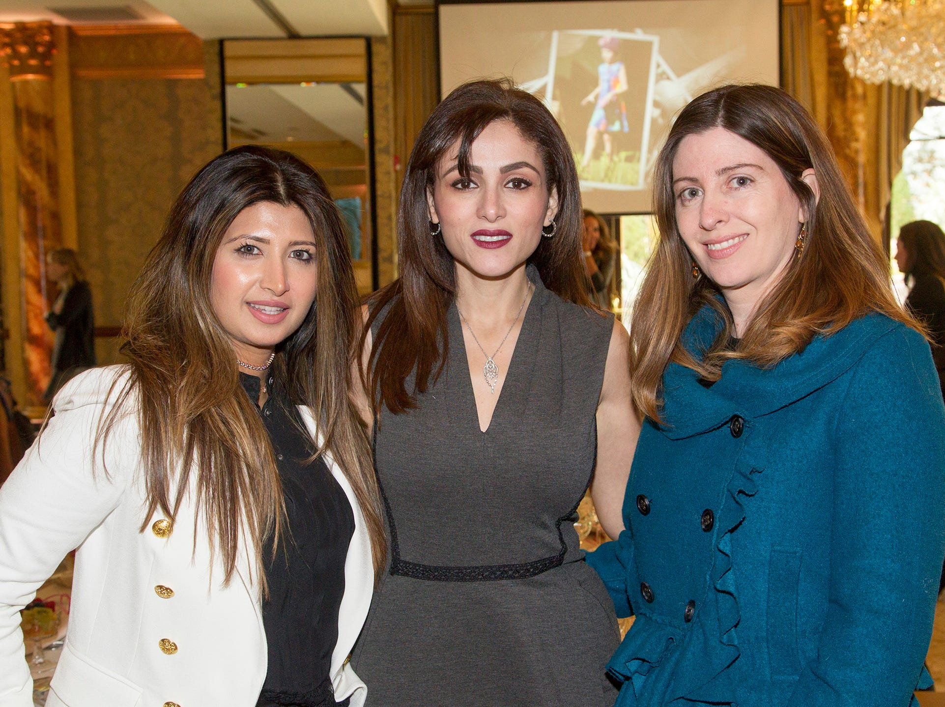 Maheen Admani, Yasmin Elshami, Pamela Kadakia. Josephine's Garden, part of Hackensack Meridian Health, held its luncheon gala at Season's in Washington Township. The mission of this organization is to provide a place of respite, joy and hope to children battling cancer. 11/14/2018