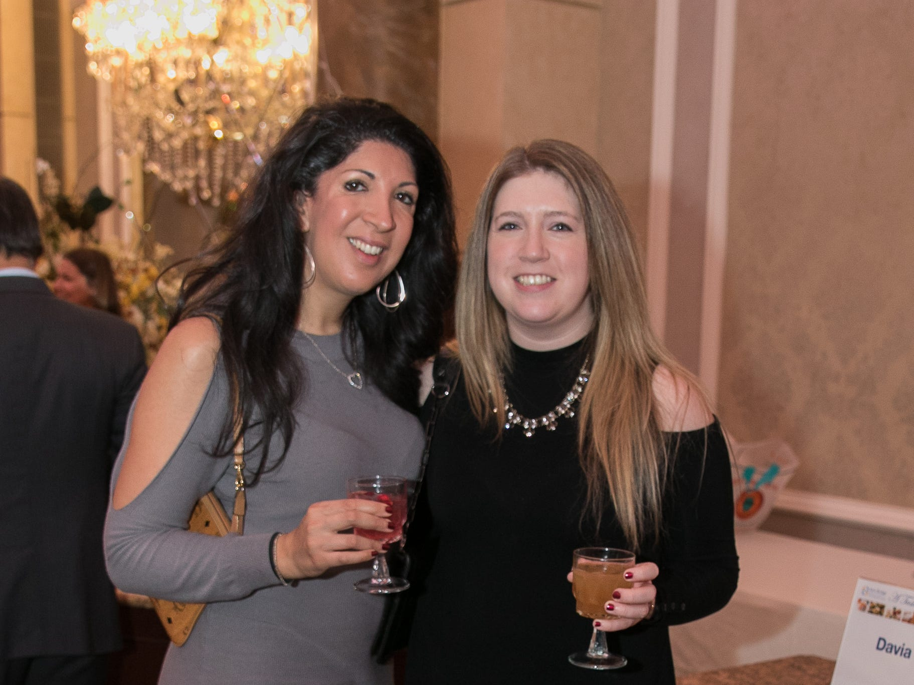 "Marisa Capasso, Abbey Rochford. The New Bridge Medical Center Foundation held its 10th Annual ""A Taste of Bergen"" at The Venetian in Garfield. The evening featured celebrity chef Chris Holland, the 2017 Grand Champion of the Food Network's ""Chopped."" 11/12/2018"