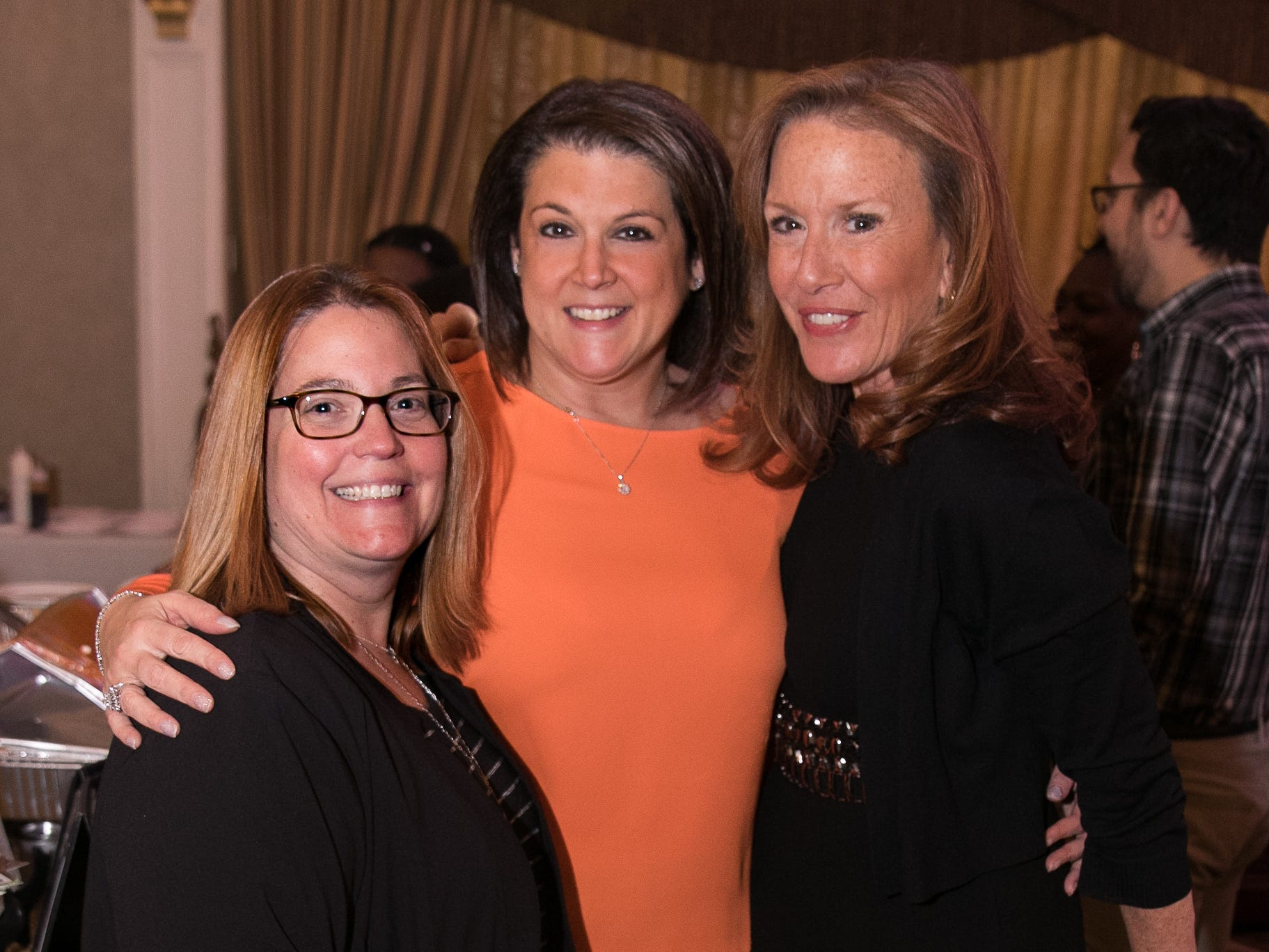 "Deb Dente, Jennifer D'Angelo, Patti Kanner. The New Bridge Medical Center Foundation held its 10th Annual ""A Taste of Bergen"" at The Venetian in Garfield. The evening featured celebrity chef Chris Holland, the 2017 Grand Champion of the Food Network's ""Chopped."" 11/12/2018"