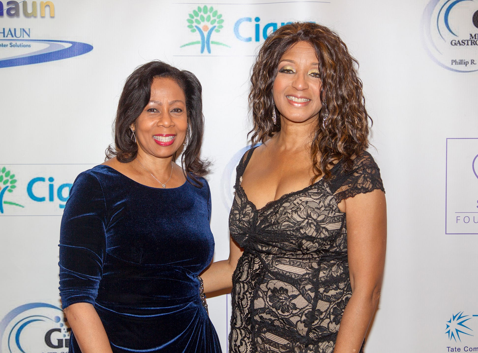 Janice Johnson and Dr. Sharon Banks-Willaims. Jessie Banks Foundation holds 16th annual Scholarship Awards Gala in Teaneck. 11/09/2018