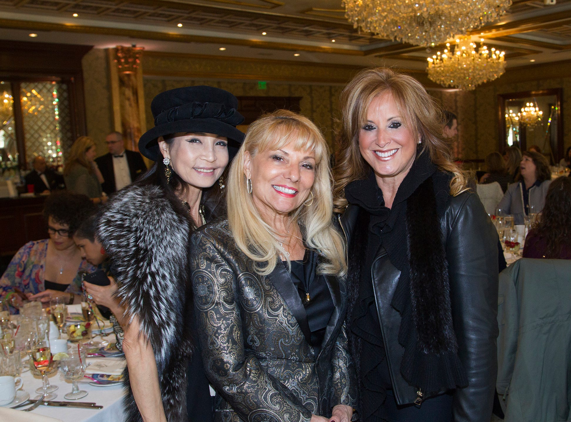 Heather Won Choi, Ro Sorce, Bonnie Inserra. Josephine's Garden, part of Hackensack Meridian Health, held its luncheon gala at Season's in Washington Township. The mission of this organization is to provide a place of respite, joy and hope to children battling cancer. 11/14/2018