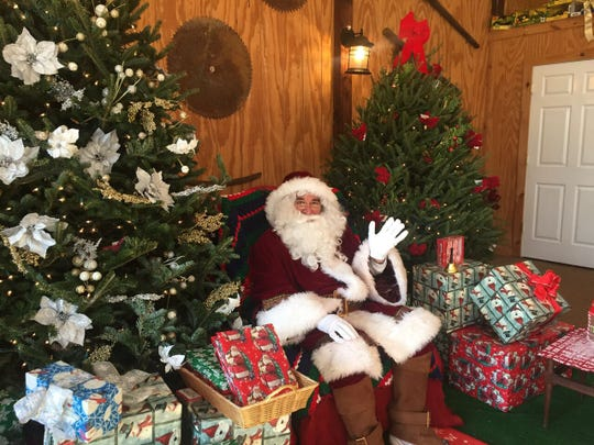 Take pictures with Santa on Nov. 23, 24 and 25 at Alstede Farms in Chester.