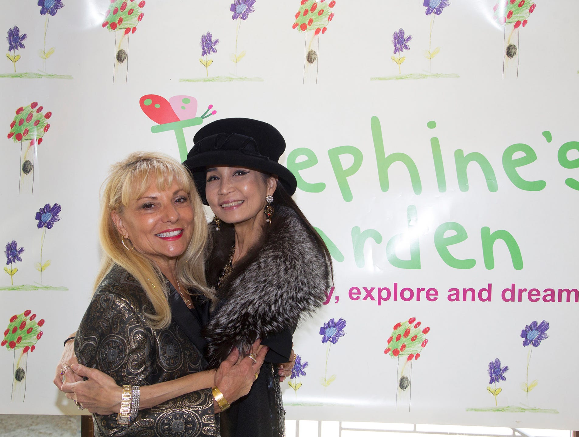 Ro Sorce, Heather Won Choi. Josephine's Garden, part of Hackensack Meridian Health, held its luncheon gala at Season's in Washington Township. The mission of this organization is to provide a place of respite, joy and hope to children battling cancer. 11/14/2018