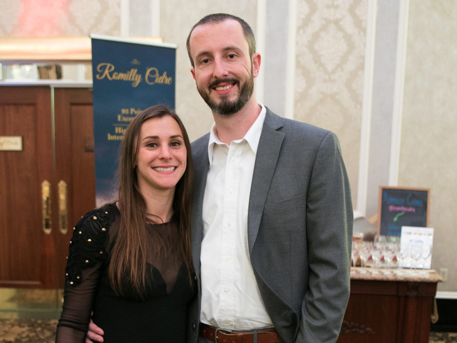 """Marlena Sofie, Ron Cassel. The New Bridge Medical Center Foundation held its 10th Annual """"A Taste of Bergen"""" at The Venetian in Garfield. The evening featured celebrity chef Chris Holland, the 2017 Grand Champion of the Food Network's """"Chopped."""" 11/12/2018"""