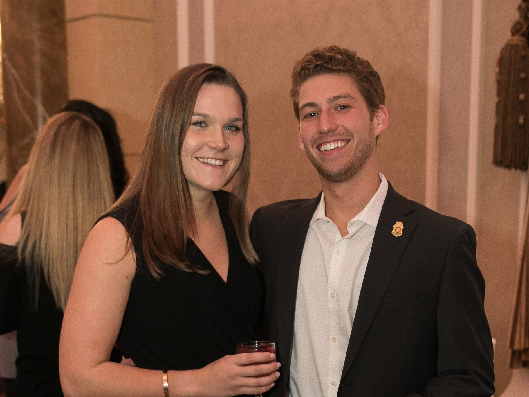 "Emily Croonquist, Philip Giuffre. The New Bridge Medical Center Foundation held its 10th Annual ""A Taste of Bergen"" at The Venetian in Garfield. The evening featured celebrity chef Chris Holland, the 2017 Grand Champion of the Food Network's ""Chopped."" 11/12/2018"