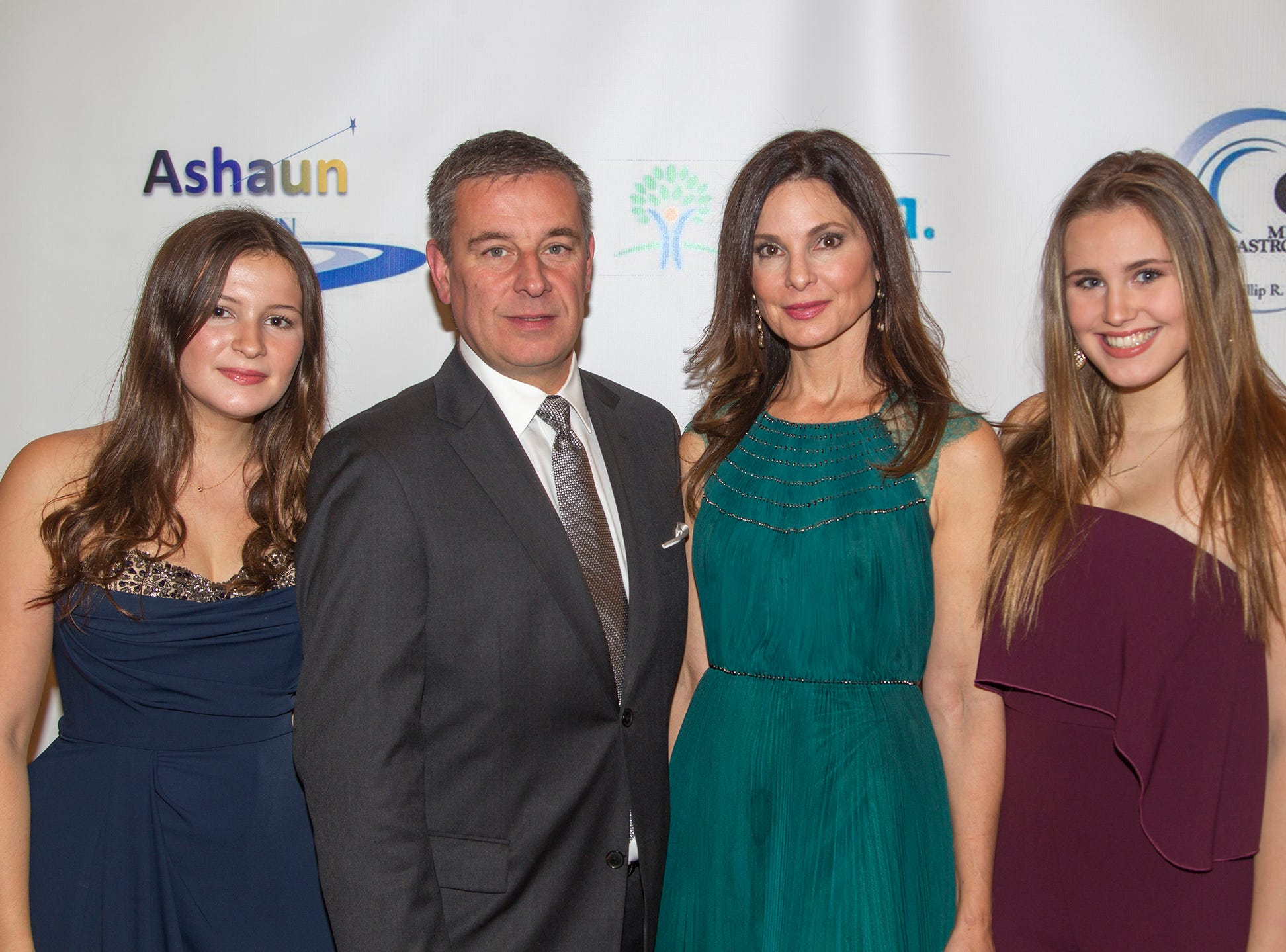 Catherine, Dr. Dante, Christine, Lily Implicito.  Jessie Banks Foundation holds 16th annual Scholarship Awards Gala in Teaneck. 11/09/2018