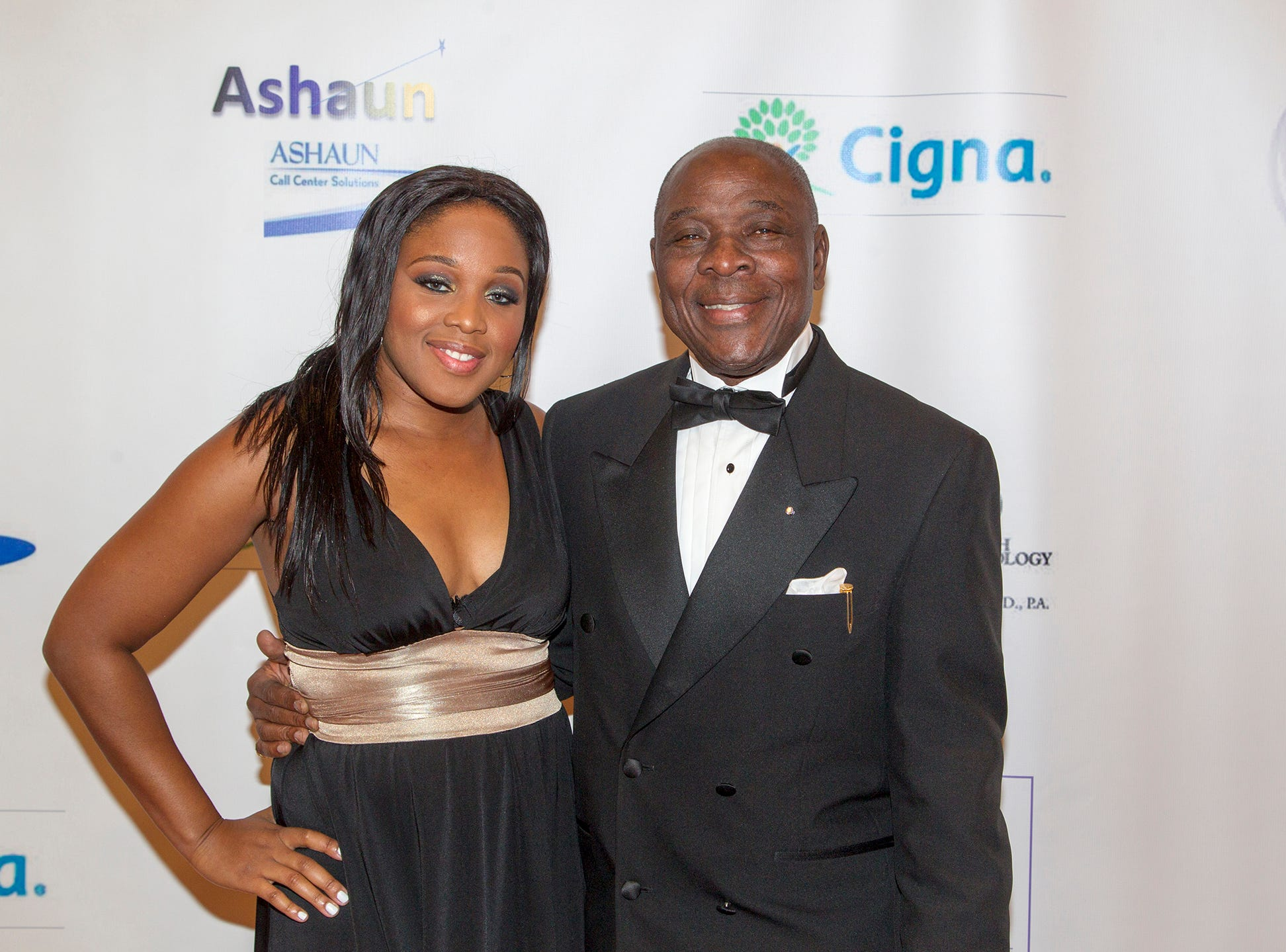 Dr. Shai and Llyod Williams. Jessie Banks Foundation holds 16th annual Scholarship Awards Gala in Teaneck. 11/09/2018