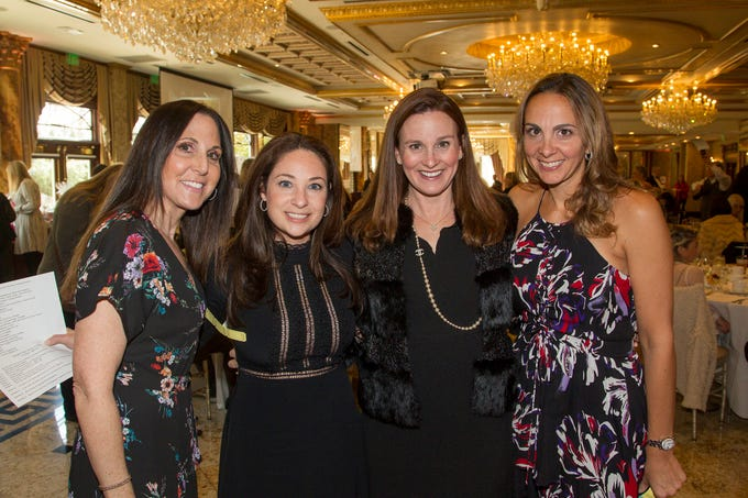 Liz Wolf, Jaime Fernino, Bernadette Colonna, Lisa Marchiano. Josephine's Garden, part of Hackensack Meridian Health, held its luncheon gala at Season's in Washington Township. The mission of this organization is to provide a place of respite, joy and hope to children battling cancer. 11/14/2018