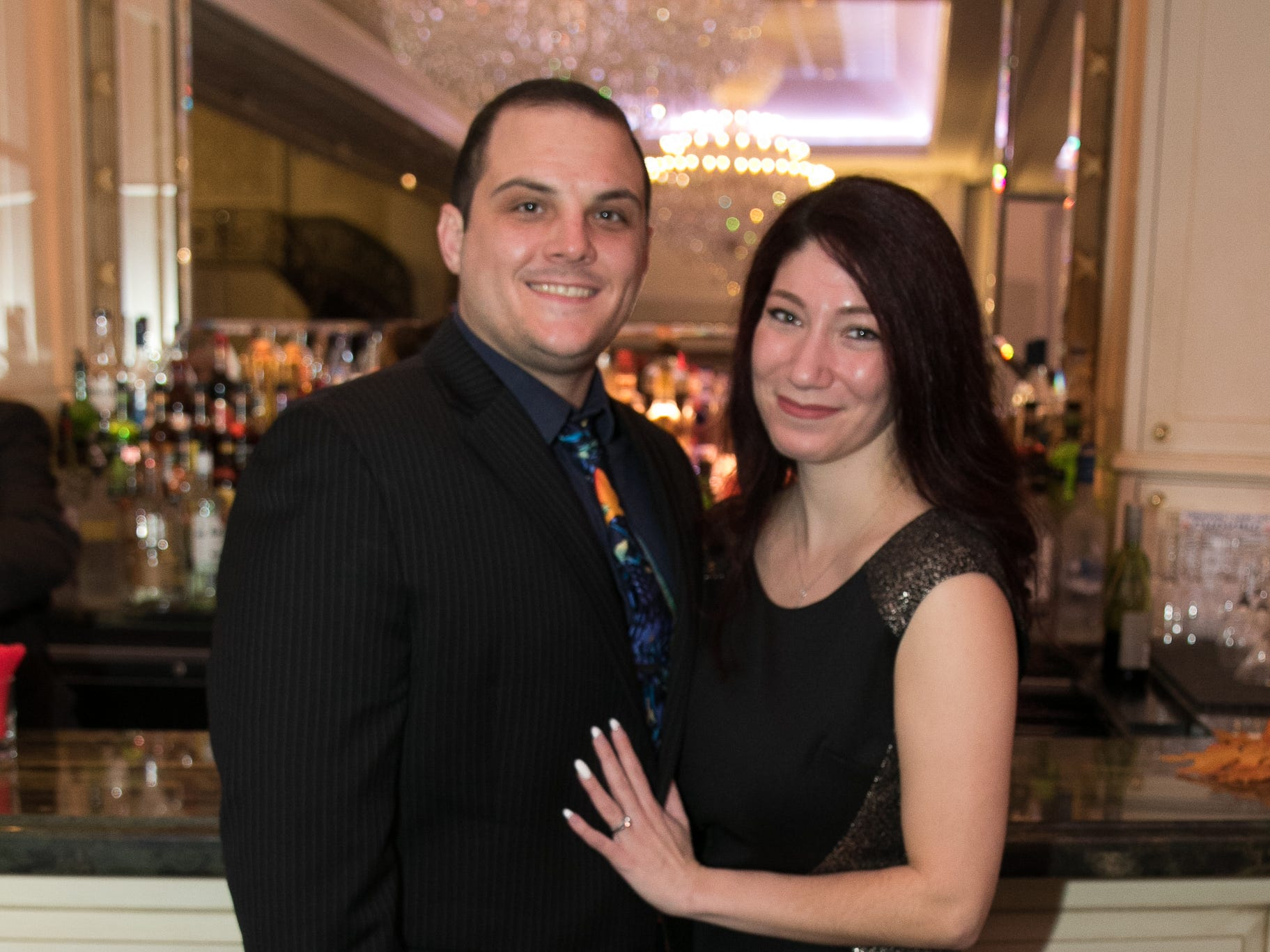 "Mike and Adrienne Mariano. The New Bridge Medical Center Foundation held its 10th Annual ""A Taste of Bergen"" at The Venetian in Garfield. The evening featured celebrity chef Chris Holland, the 2017 Grand Champion of the Food Network's ""Chopped."" 11/12/2018"