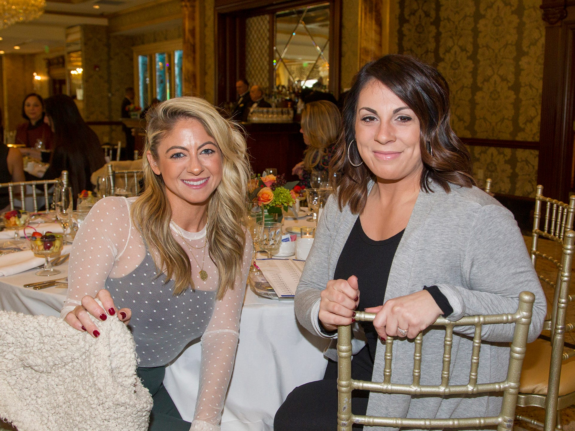 Tara Curcio, Brielle Coppla. Josephine's Garden, part of Hackensack Meridian Health, held its luncheon gala at Season's in Washington Township. The mission of this organization is to provide a place of respite, joy and hope to children battling cancer. 11/14/2018
