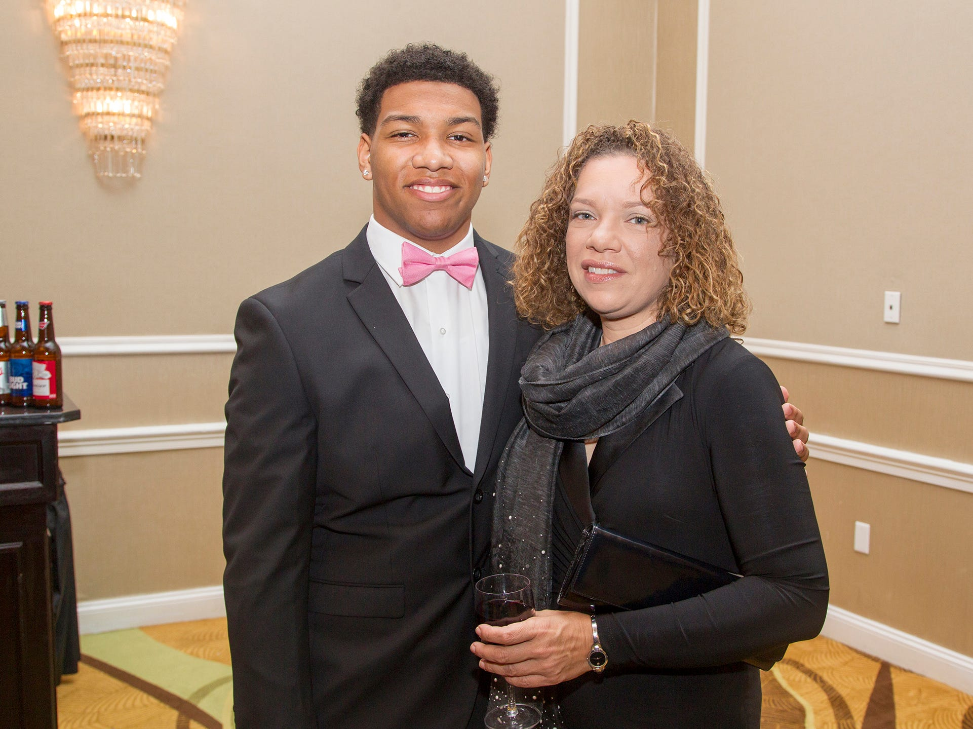 Ely and Tamara. Jessie Banks Foundation holds 16th annual Scholarship Awards Gala in Teaneck. 11/09/2018