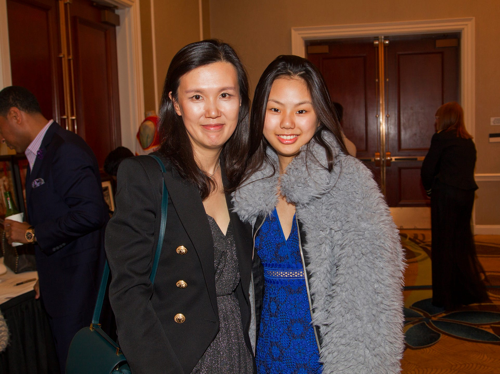 Evenly Choe, Eun Jung. Jessie Banks Foundation holds 16th annual Scholarship Awards Gala in Teaneck. 11/09/2018