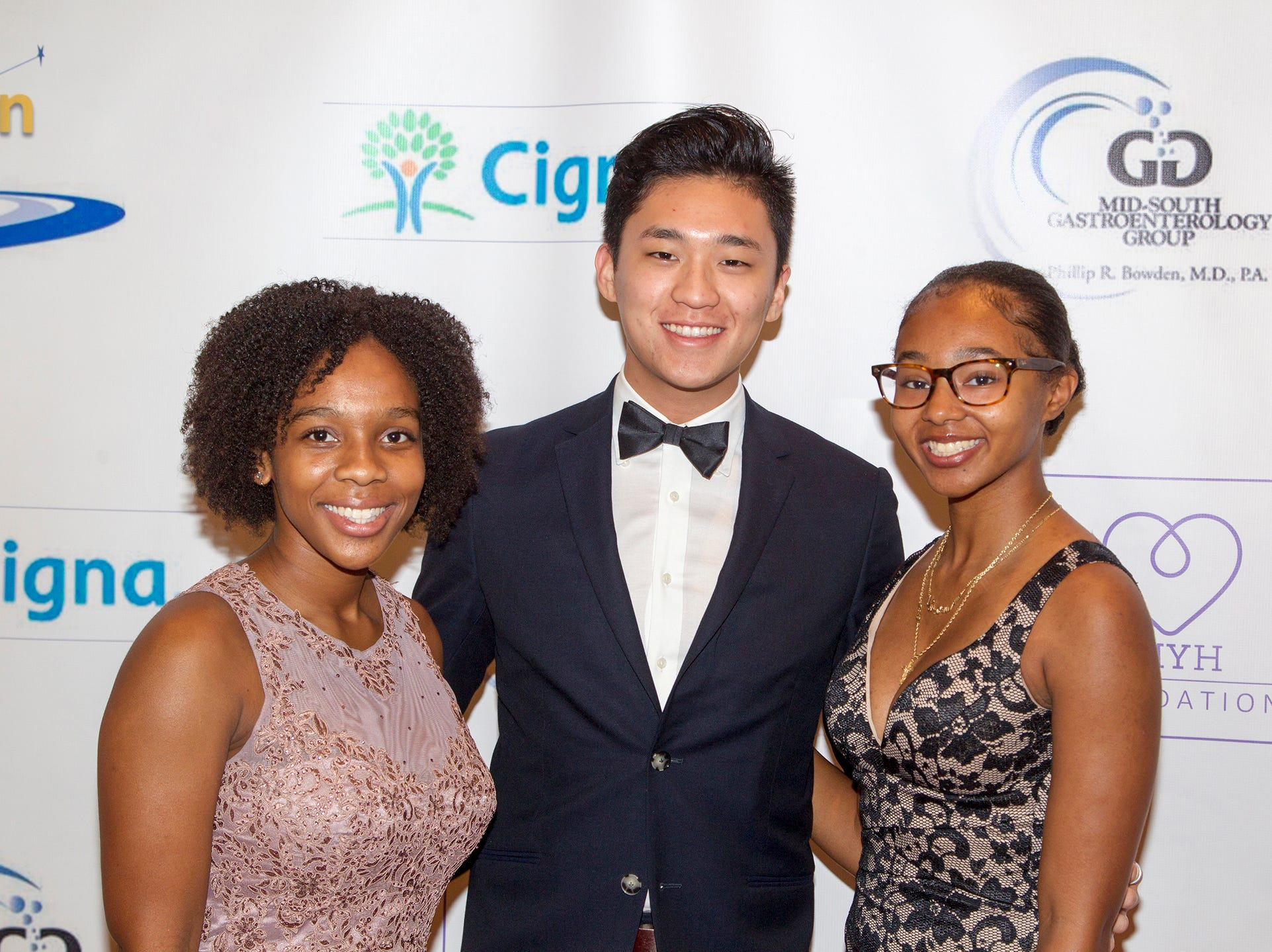 Ciyon, Lee, Kim. .Jessie Banks Foundation holds 16th annual Scholarship Awards Gala in Teaneck. 11/09/2018
