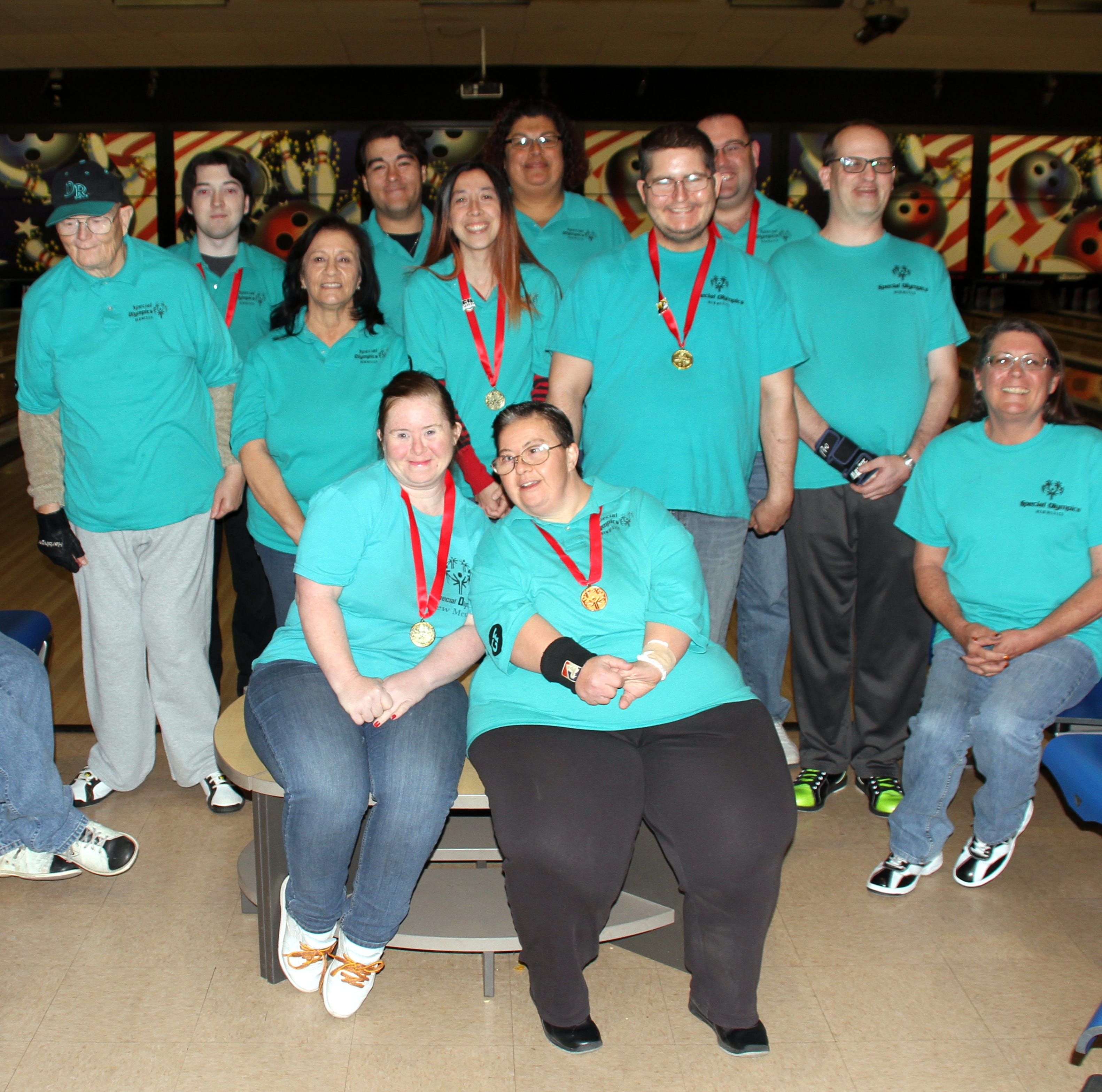 Deming Roadrunners place at Special Olympics State Bowling Tournament in Albuquerque, NM