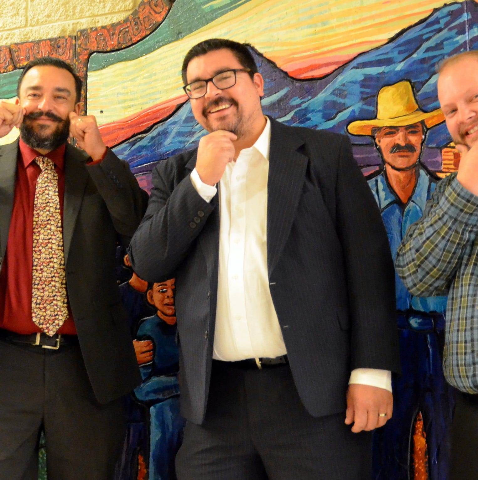 Deming Public School and MainStreet host No-Shave November Fundraising Contest