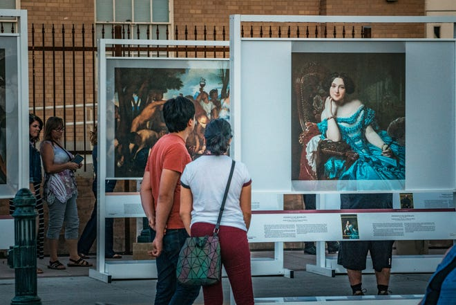 """The Prado in Las Cruces"" is a free exhibit on display at Plaza Place next to the Plaza de Las Cruces in downtown through Nov. 28."